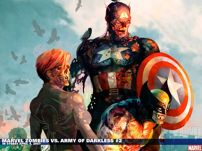 Marvel Zombies VS. Army of Darkless #2 - Marvel Comics Wallpaper ...