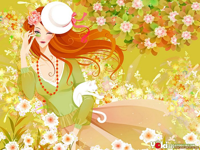 glamour girl wallpaper.  Illustration Wallpaper 、Beautiful and Glamour Fashion Girl Pictures,