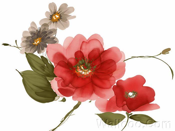 Floral painting patterns free patterns for Floral painting ideas