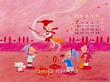 February 2003 Calendar Wallpapers12 pics