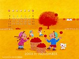 November 2003 Calendar Wallpapers11 pics