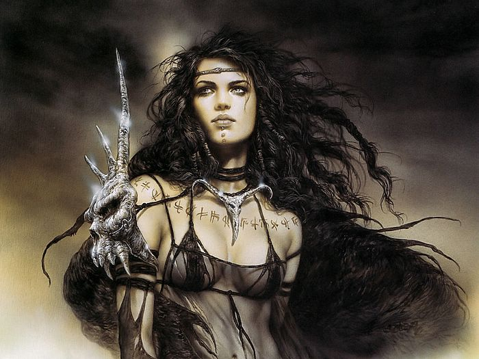 Absolutely useless. luis royo heavy metal