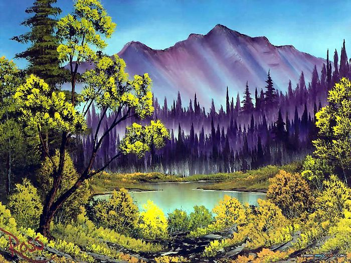 Bob Ross Joy of Painting Art Classes