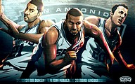 NBA: San Antonio Spurs Players 2009-1027 pics
